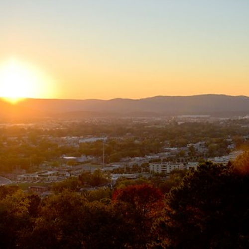 "Sunset - Chattanooga Missionary Ridge • <a style=""font-size:0.8em;"" href=""http://www.flickr.com/photos/76841329@N04/12503868183/"" target=""_blank"">View on Flickr</a>"